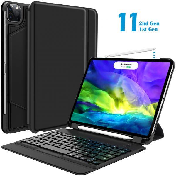 Keyboard Case for iPad Pro 11 2020 2nd Gen/ 2018 1st Gen ...